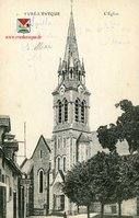 Eglise Saint Germain vers 1920
