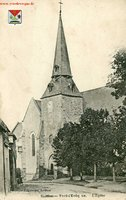Eglise Saint Germain vers 1900